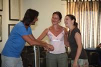 Iago, Marina Busi e Iolanda La Carrubba